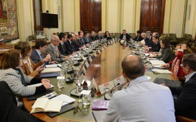 Reunión con el Ministro de Agricultura, Pesca y Alimentación
