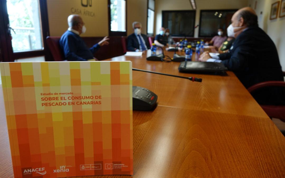 Presentación del Estudio de Mercado sobre consumo de pescado en Canarias