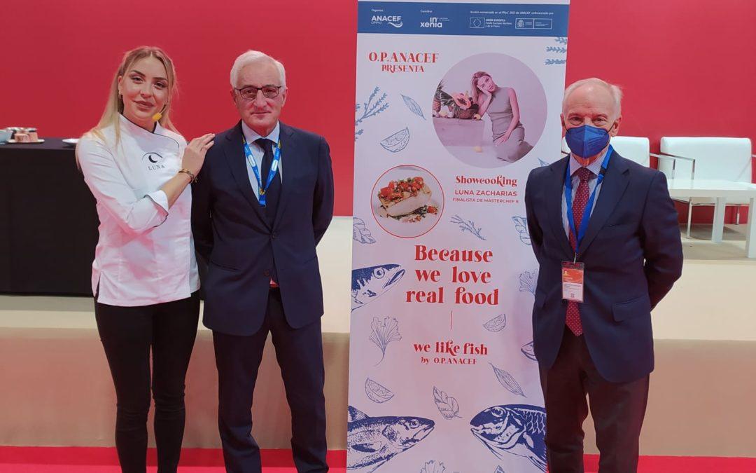 """Anacef y la Masterchef Luna Zacharias convencen en el Salón Gourmets con su apuesta por la """"Real Food"""""""